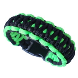 King Cobra Paracord Bracelet Curved Buckle