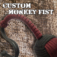 Custom Monkey Fist Keychain