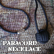 Monkey Fist Paracord Necklace